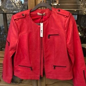 Alice and Olivia - Pink Leather Jacket